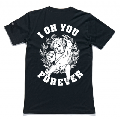 I Oh You Forever Tee (Black)