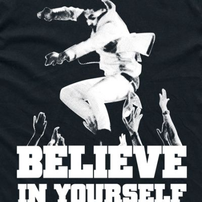 The Underdogs: Believe In Yourself Tee (Black)