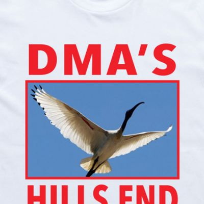 I OH YOU x DMA's White Tee