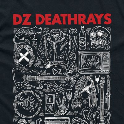 I OH YOU x DZ Deathrays Black Tee