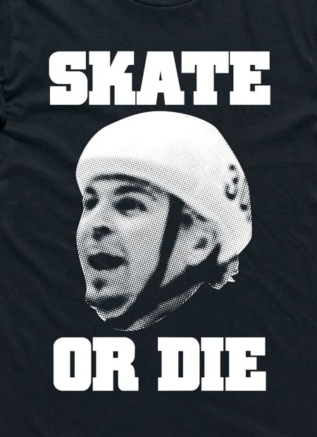 The Underdogs: Skate Or Die Tee (Black) by I Oh You