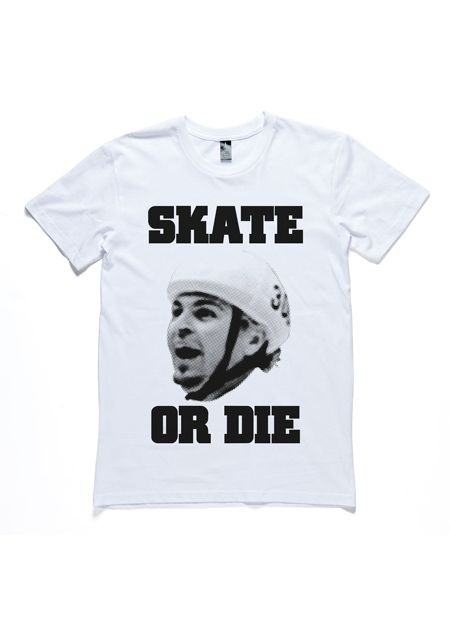 The Underdogs: Skate Or Die Tee (White) by I Oh You
